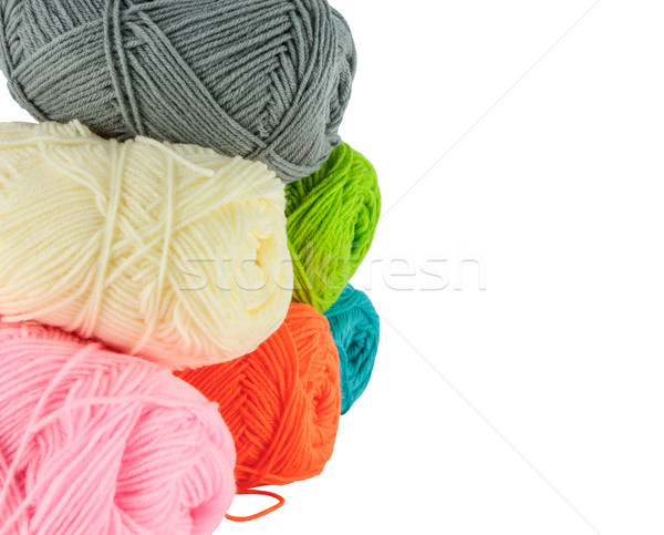 stack of knitting yarn  Stock photo © Bunwit