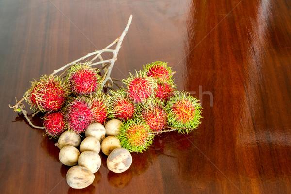 Rambutan and Wollongong Stock photo © Bunwit