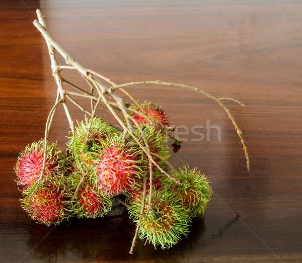 Rambutan Stock photo © Bunwit