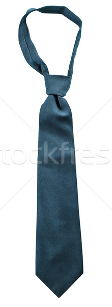 Black necktie isolated  Stock photo © Bunwit