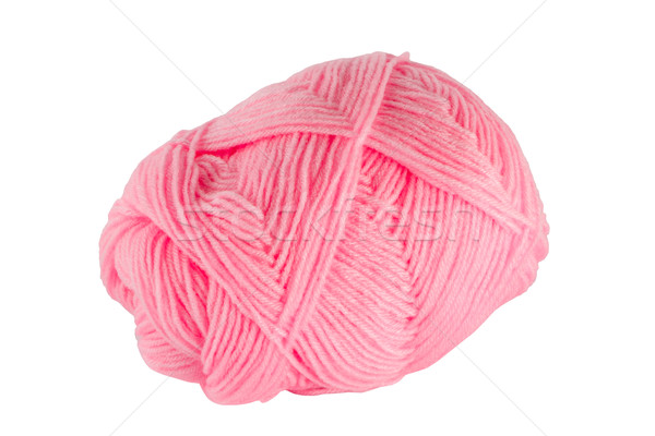 Pink ball of yarn Stock photo © Bunwit