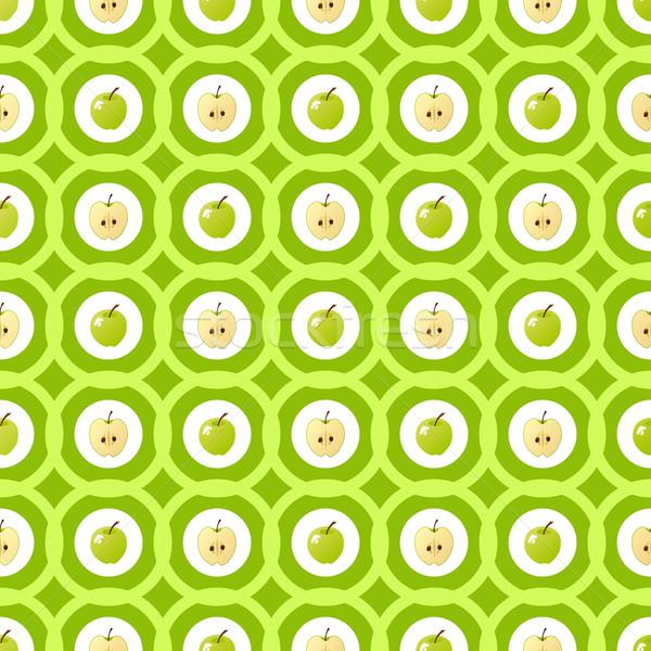 Apple pattern Stock photo © Bunyakina_Nady