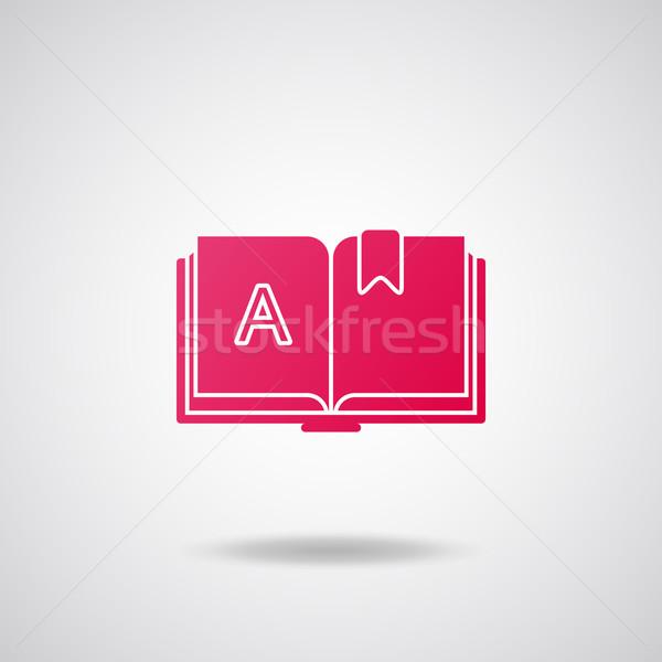 Book icon Stock photo © Bunyakina_Nady