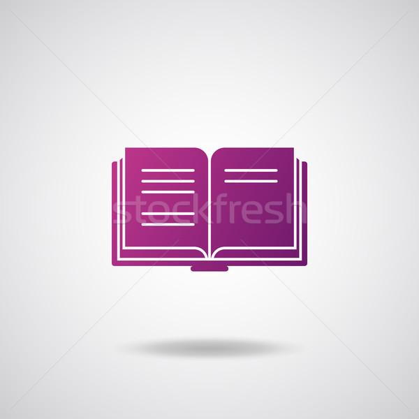 Сток-фото: книга · икона · бумаги · интернет · Дать · связи