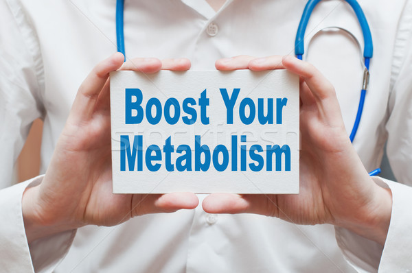 Boost Your Metabolism Stock photo © burtsevserge