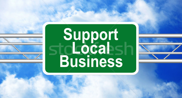 Support Local Business Stock photo © burtsevserge