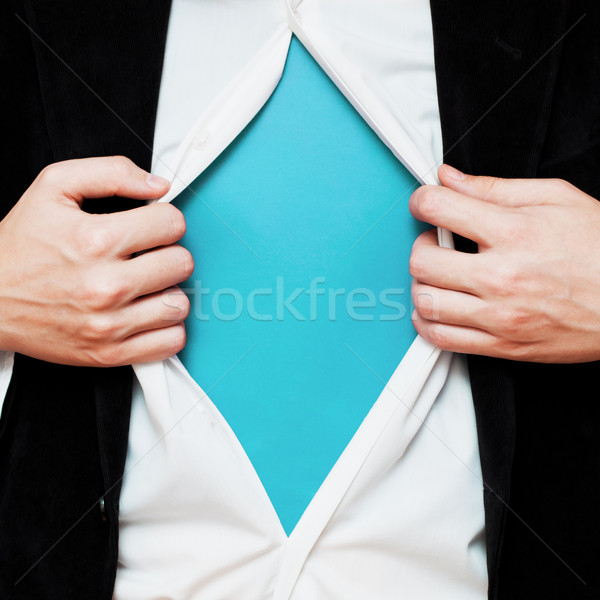 Empresário cópia espaço camisas como Foto stock © burtsevserge