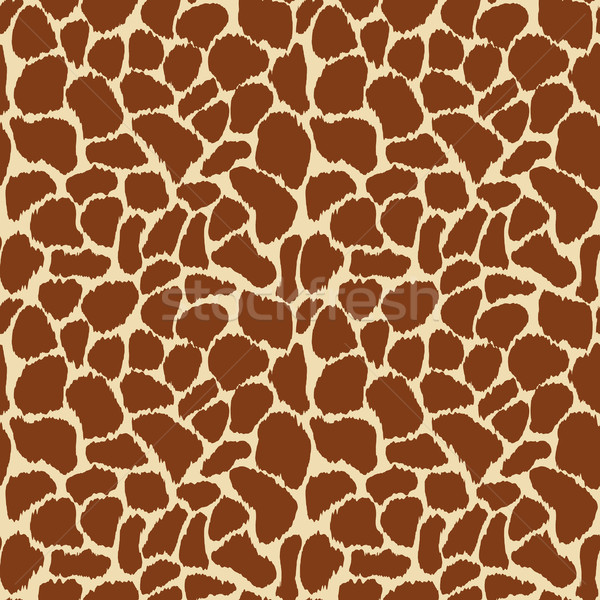 Girafa pele vetor textura projeto Foto stock © burtsevserge