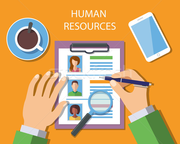 Human Resources Management Concept Stock photo © burtsevserge
