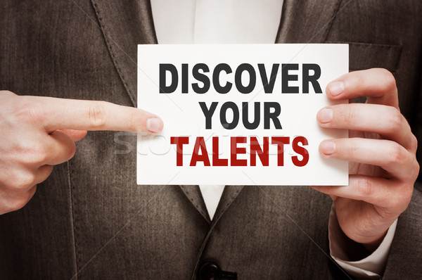 Discover Your Talents Stock photo © burtsevserge