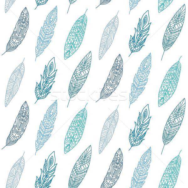 étnico fundo arte tecido Foto stock © burtsevserge