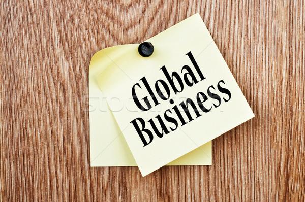 Stock photo: Global Business