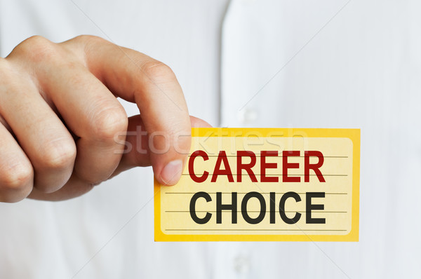 Stock photo: Career Choice