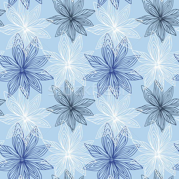 Floral Seamless Pattern Stock photo © burtsevserge