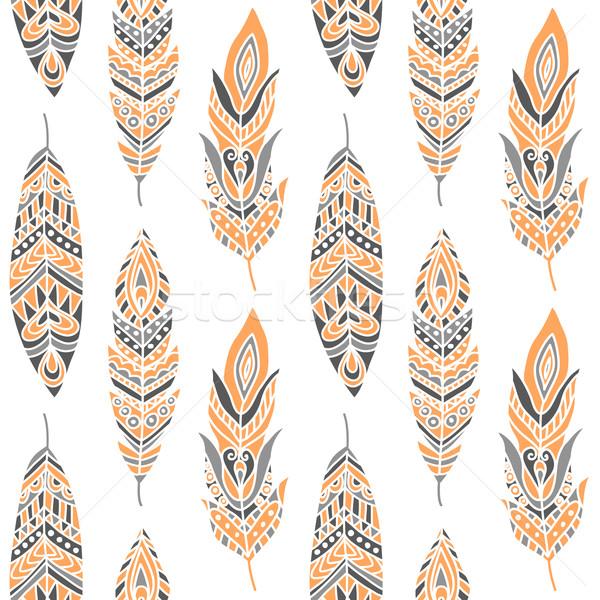 Etnica può usato wallpaper Foto d'archivio © burtsevserge