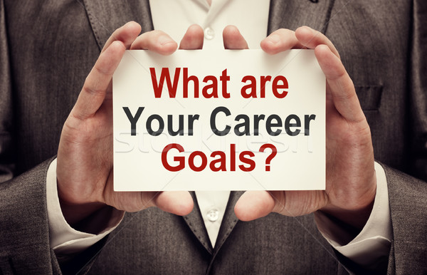 What are Your Career Goals Stock photo © burtsevserge