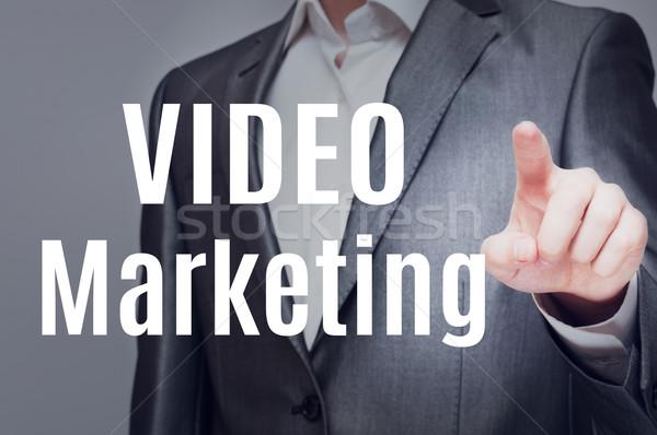Video Marketing Stock photo © burtsevserge