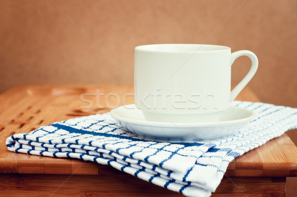 Coffee Cup On The Table Stock photo © burtsevserge