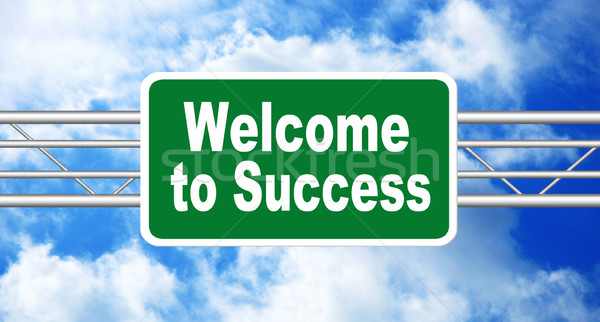 Welcome to Success Stock photo © burtsevserge