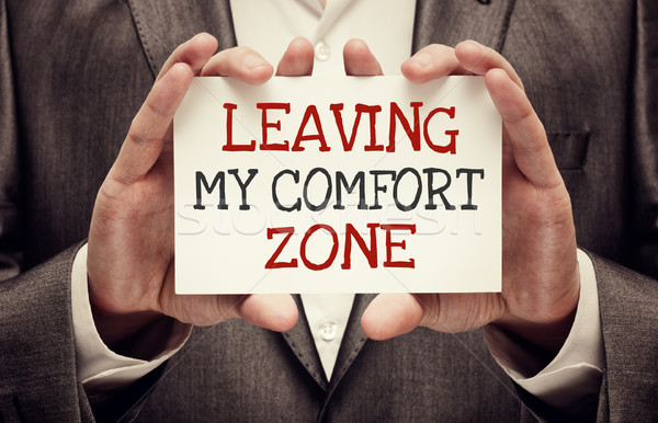 Leaving My Comfort Zone Stock photo © burtsevserge