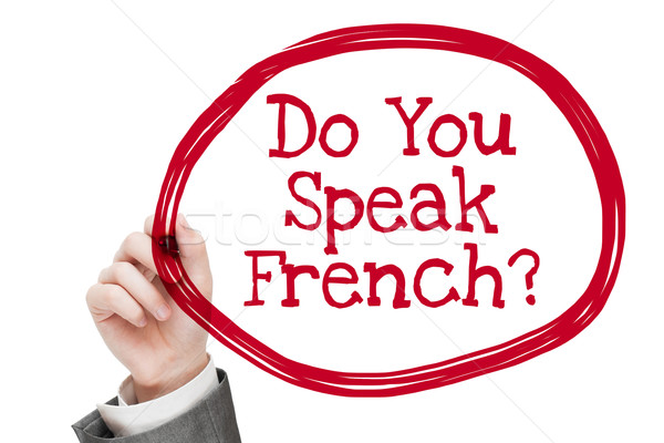 Stock photo: Do You Speak French