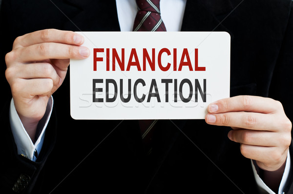 Financial Education Stock photo © burtsevserge