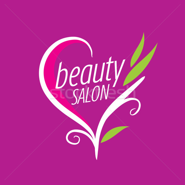 logo beauty salon Stock photo © butenkow