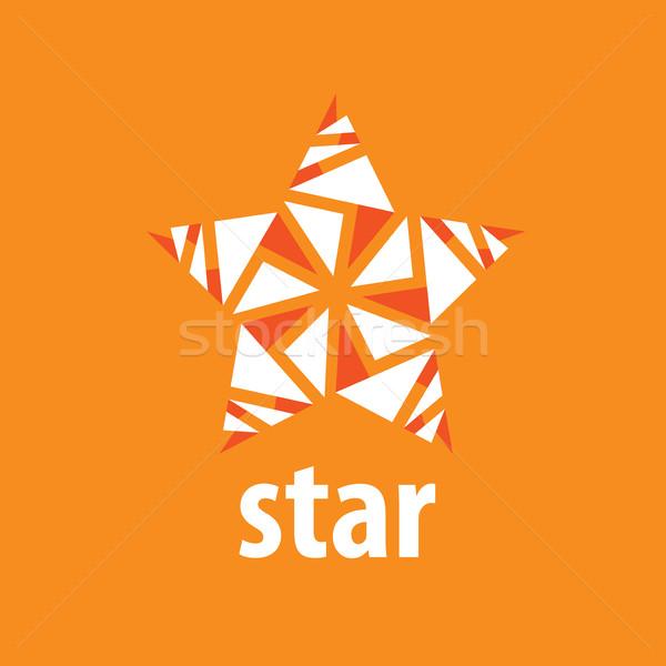 Vecteur logo star résumé signe Photo stock © butenkow