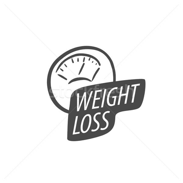 Logo logo tasarımı model diyet ikon Stok fotoğraf © butenkow