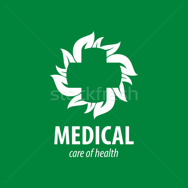 vector logo medical Stock photo © butenkow