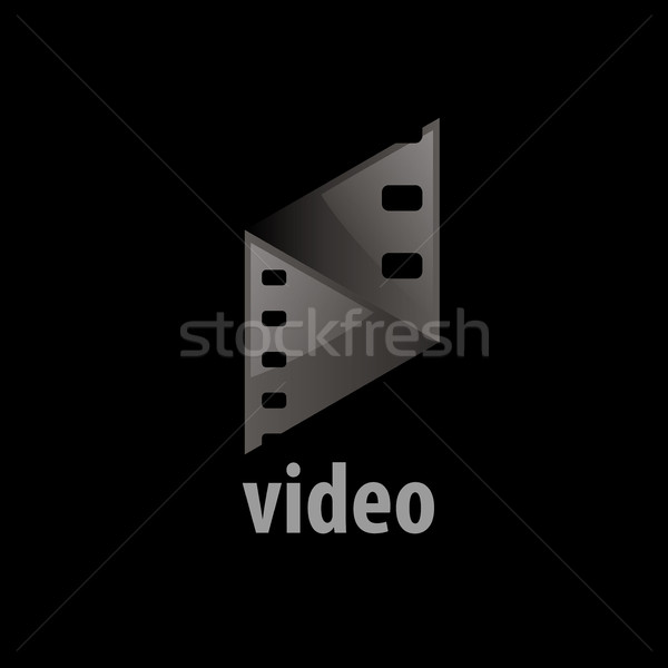 vector logo film Stock photo © butenkow