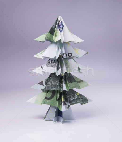 Christmas Crafts - DIY How to Fold Money Christmas Tree - Money ... | 600x517