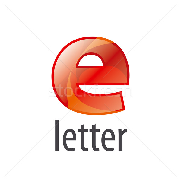 colorful abstract vector logo letter E Stock photo © butenkow
