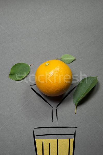 oranges for juicing Stock photo © butenkow