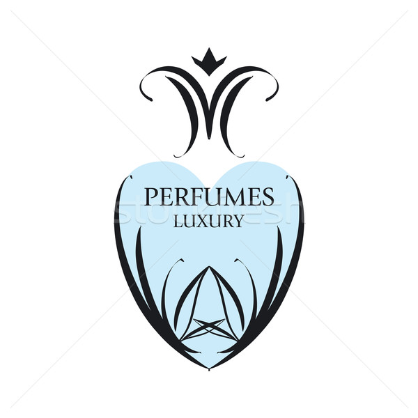 Abstract vector logo patronen parfumerie mode Stockfoto © butenkow