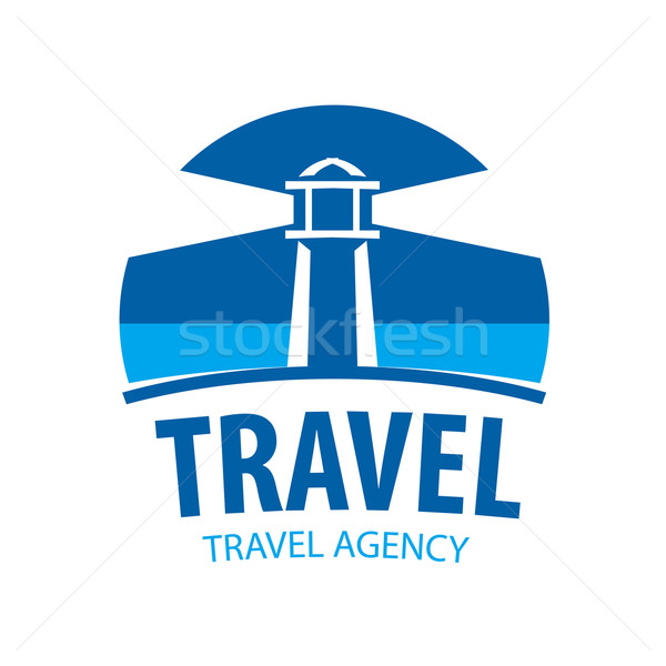 vector logo beacon indicating travel Stock photo © butenkow