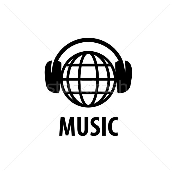 vector logo music Stock photo © butenkow