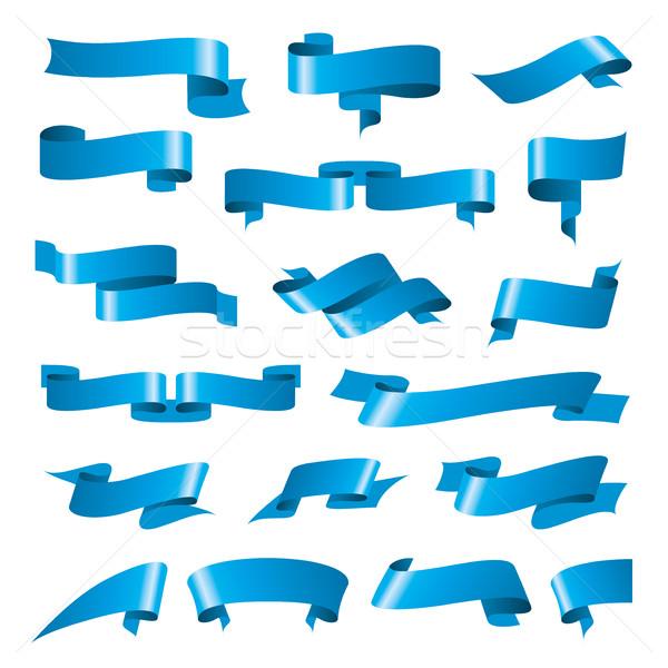 Vecteur ruban modèles modèle design Photo stock © butenkow