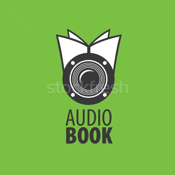 audiobook vector logo template vector illustration Алексей