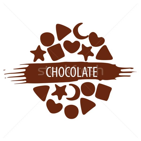 商业照片 / 矢量图: 向量 · 标志 ·集· 巧克力 · 糖果 · 咖啡