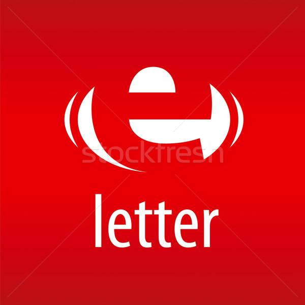 Wektora logo streszczenie czerwony działalności Zdjęcia stock © butenkow
