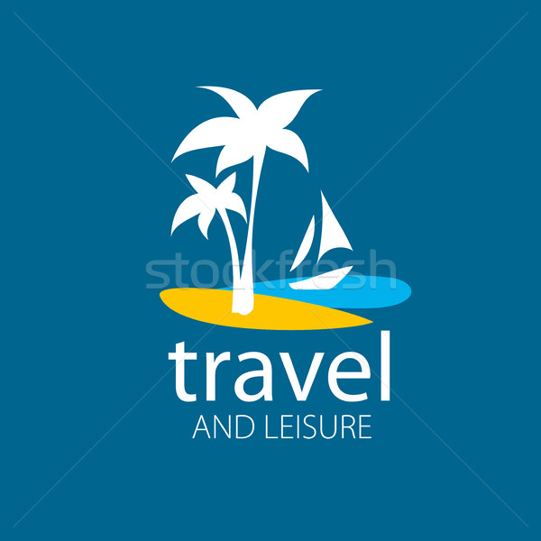 Vector logo travel Stock photo © butenkow