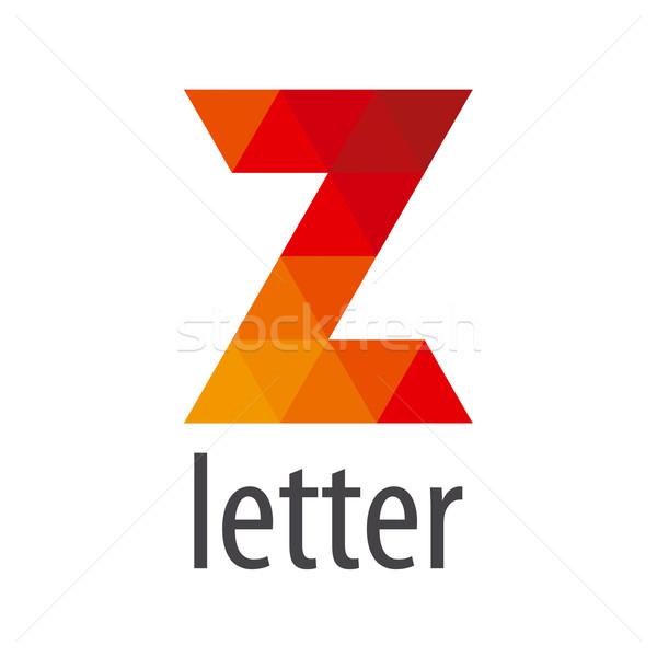 вектора логотип аннотация письмо z Элементы Сток-фото © butenkow