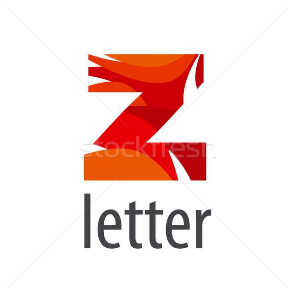 Stock photo: Creative vector logo colored letter Z