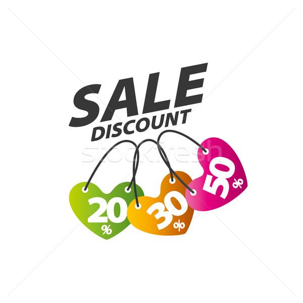 Vetor assinar padrão abstrato ícone compras Foto stock © butenkow