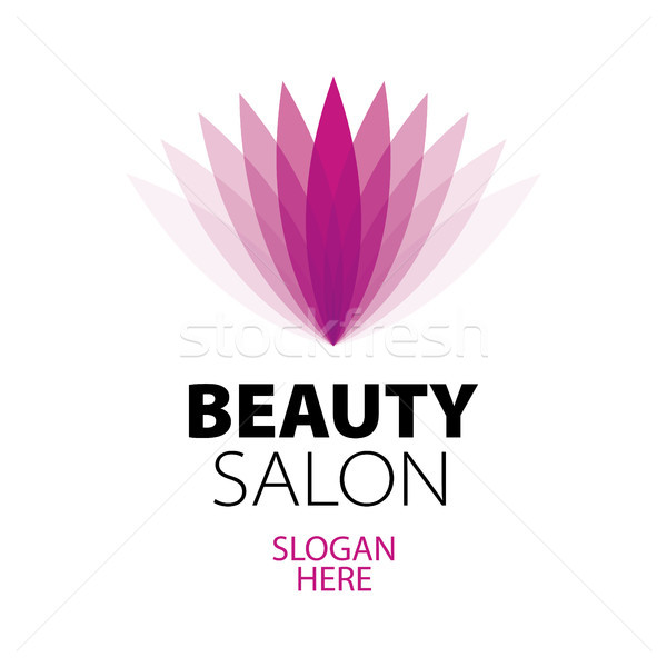 abstract logo beauty salon Stock photo © butenkow