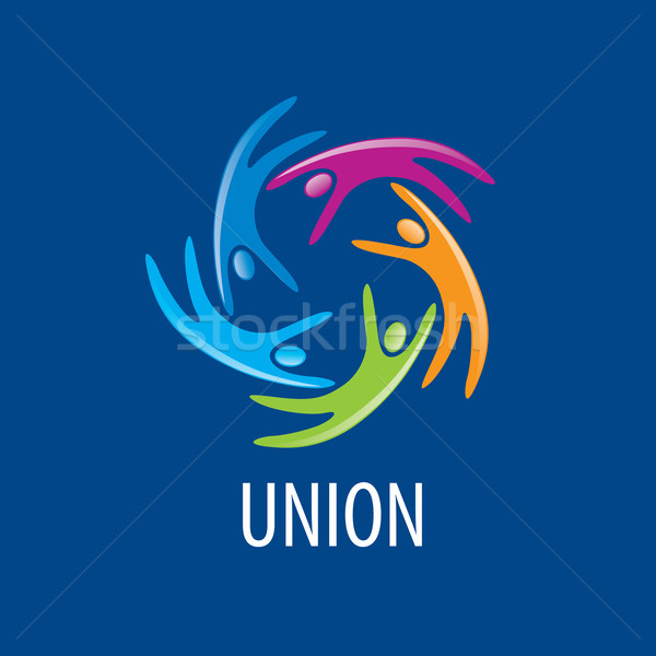 logo union people Stock photo © butenkow