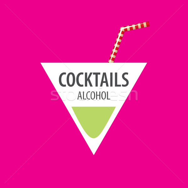 alcoholic cocktails logo Stock photo © butenkow