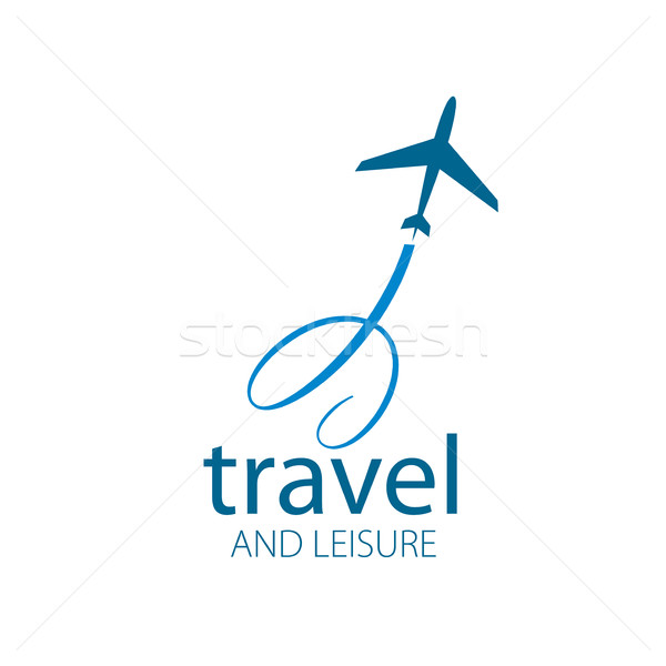 Stock photo: travel vector logo
