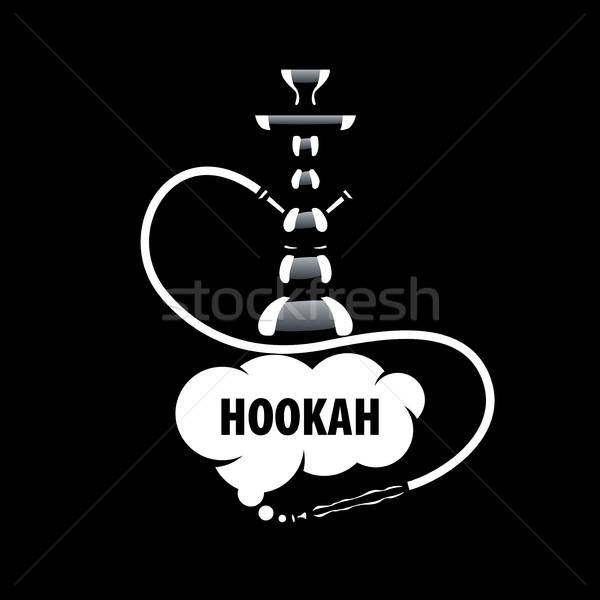 vector logo hookah Stock photo © butenkow